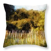 English Pastorale Throw Pillow