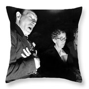 English Seance Throw Pillow
