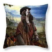 English Springer Spaniel Art Canvas Print  - The Port Throw Pillow
