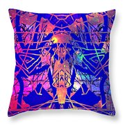 Enigma In Abstraction Throw Pillow