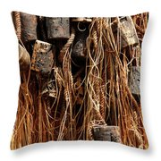 Enkhuizen Fishing Nets Throw Pillow