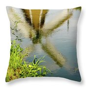 Enkhuizen Windmill Throw Pillow