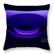 Enlarger Lens Under Blacklight Throw Pillow