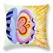 Enlighten Ourselves Throw Pillow