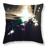 Enlightened Night Throw Pillow