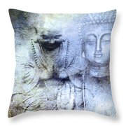 Enlightenment Throw Pillow by M Montoya Alicea