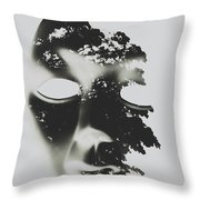 Enlightenment Within Throw Pillow