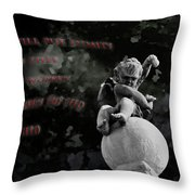 Enmity Throw Pillow