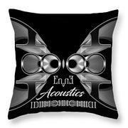 Enne Acoustics Throw Pillow
