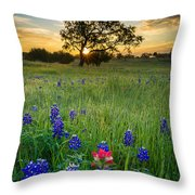 Ennis Tree Throw Pillow