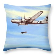 Enola Gay Throw Pillow by Marc Stewart
