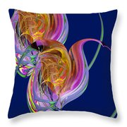 Entangled Hearts Throw Pillow