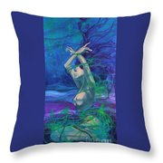 Entangled In Your Love... Throw Pillow