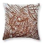Enter - Tile Throw Pillow