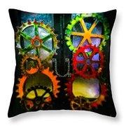 Enter Chained Melody  Throw Pillow