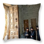 Enter In Throw Pillow