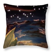 Enter My Dream Throw Pillow
