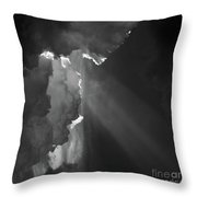 Enter Stage Right Throw Pillow