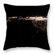 Entering The Twilight Zone Throw Pillow