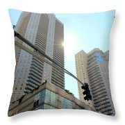 Entersection Throw Pillow