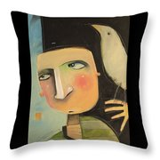 Entertaining The Muse Throw Pillow