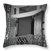 Entrance 25 Piccadilly Throw Pillow