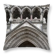 Entrance Arches Throw Pillow