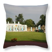 Entrance Katharinen Palace Throw Pillow