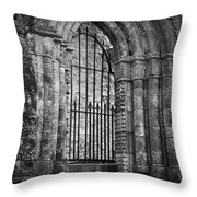 Entrance To Cong Abbey Cong Ireland Throw Pillow