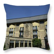 Entrance To The Old Course Hotel Throw Pillow