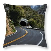 Entrance To The Valley Throw Pillow