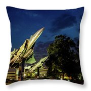 Entrance Wright Patterson Afb Throw Pillow
