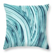 Entranced 1- Abstract Art By Linda Woods Throw Pillow