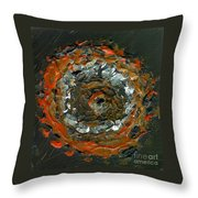 Entranced By A Fiery Vision Throw Pillow