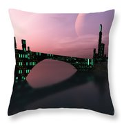 Entrancement Throw Pillow by Corey Ford