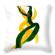 Entrelazados Throw Pillow