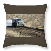 Envirotac Polymers For Road And Sub Base Stabilization Throw Pillow