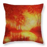 Envisioning Illumination Throw Pillow