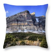 Eons Of Layers Throw Pillow