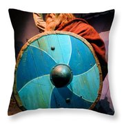 Epcot Viking Throw Pillow