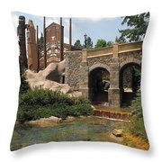 Epcot's Canada Throw Pillow