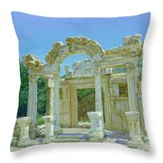 Ephesus.ruins Throw Pillow