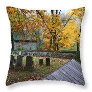 Ephrata Cloister Cemetery Throw Pillow