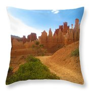 Epic Bryce Canyon Throw Pillow