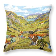 Epic Charlevoix Created By Richard Pranke Throw Pillow