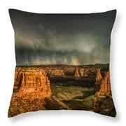 Epic Monument Sunset #3 Throw Pillow