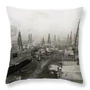 Epic Texas 1919  Throw Pillow