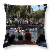 Epiphany At Spring Bayou Throw Pillow