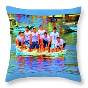 Epiphany Boys Throw Pillow