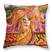 Epona, Protectress, Independence, Vitality Throw Pillow